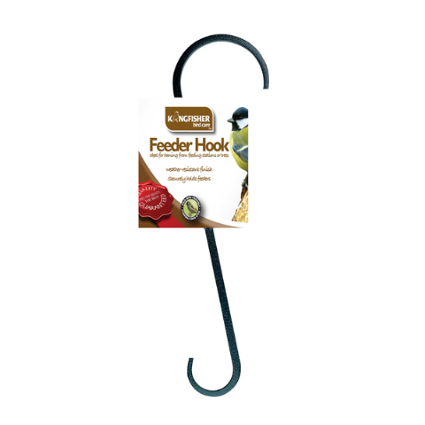 Feeder Hook For Wild Bird Feeders - Ideal for Feeding Stations and Trees Kingfisher Bird Care